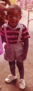 Very Young Malik... good looks runs in the fam ;)