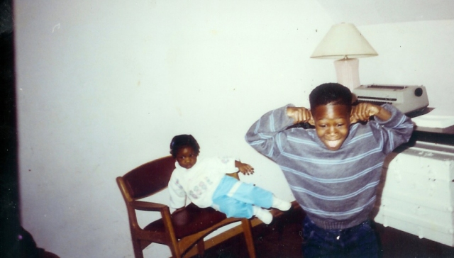 Goofy-ness Too :D... (Malik & my sister Shalese)